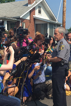 Alexandria Police Chief Michael Brown tells media that the investigation of a Wednesday morning attack on Congressmen will be handed to the FBI.