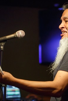 Local Favorite Anthony 'The Poet' Flores to Emcee Wednesday's 'MetaDada' Poetry Reading