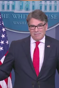 Rick Perry, Now Energy Secretary, Is Still Confused About Climate Change