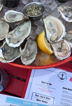Shuck Shack Turns 2 with $3 Rosé, Oyster Specials and Man, Fire, Food Screening