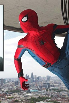 Churchill High School graduate Chris Silcox was tapped last year to be one of three stunt doubles for Spider-Man in the newest film of the franchise, Spider-Man: Homecoming.