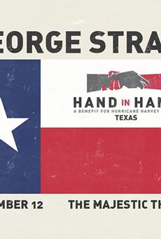 George Strait, Robert Earl Keen, Miranda Lambert and More to Play Benefit for Hurricane Harvey Relief