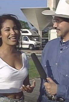 Brace Yourselves — A Lost Selena Interview in San Antonio Has Been Found