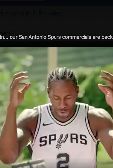 H-E-B's Spurs Commercials are Coming Next Week