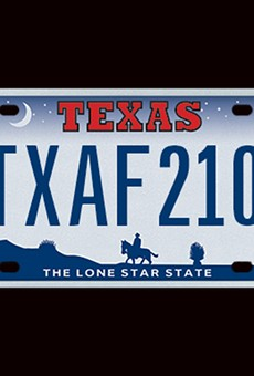 The Most Texas License Plate Ever is Coming Back