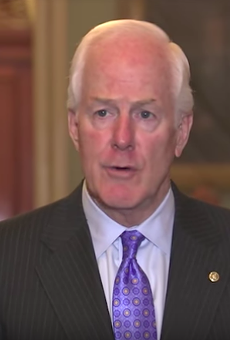 Sen. Cornyn announcing his law to enforce laws Tuesday