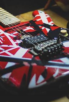Eddie Van Halen's Guitar Returned to Hard Rock Cafe After Found on River Walk