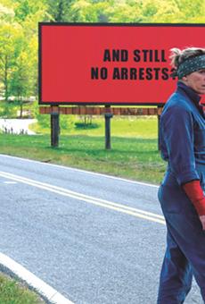 Frances McDormand Shines in the Dark Comedy Three Billboards Outside Ebbing, Missouri