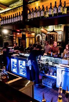 Francis Bogside Still Nails Cocktails, Fare in Pub Setting
