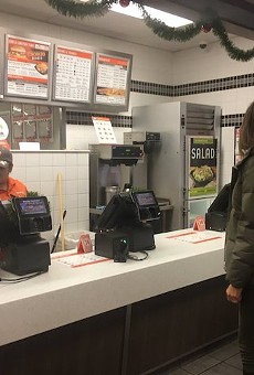 BREAKING: First Lady Melania Trump Gets Lunch at Whataburger