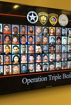 San Antonio Law Enforcement Make 215 Gang-Related Arrests in 90 Days