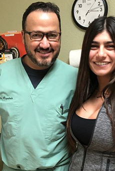 Former Adult Film Actress Mia Khalifa Praises San Antonio Chiropractor on Instagram