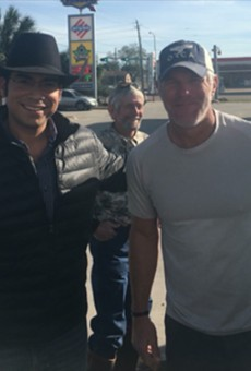 Football Legend Brett Favre Spotted in South Texas During Hunting Trip