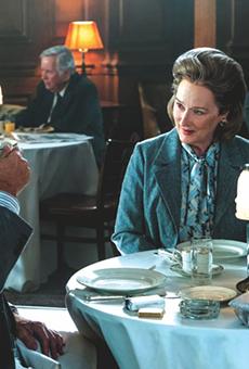 Tom Hanks as Executive Editor Ben Bradlee and Meryl Streep as Publisher Katharine Graham
