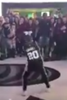 This Young Fan's Dance at Her First Spurs Game Has Us Hyped