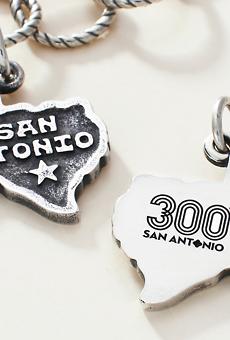 Tricentennial Commemorative San Antonio Charm, $60