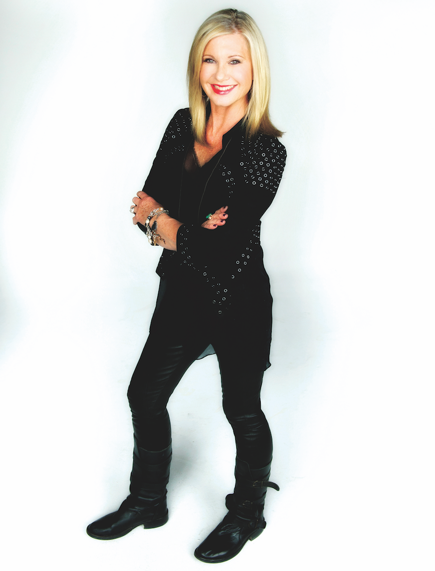 Olivia Newton John Ready To Belt It Out At The Majestic Sa Sound
