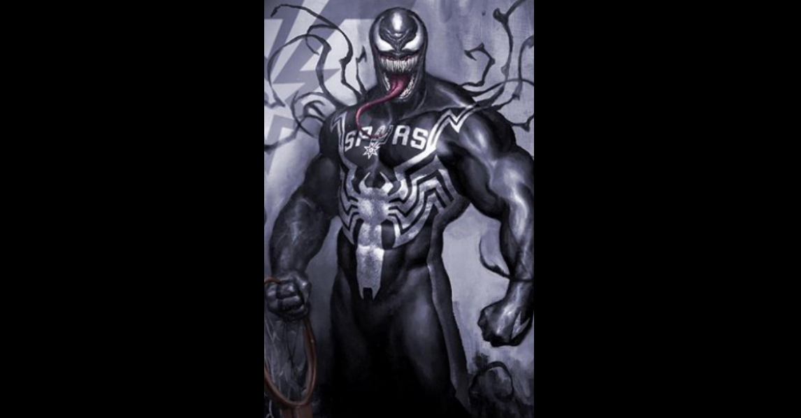San Antonio Artist Imagines Marvel Villain Venom As A Spurs Fan