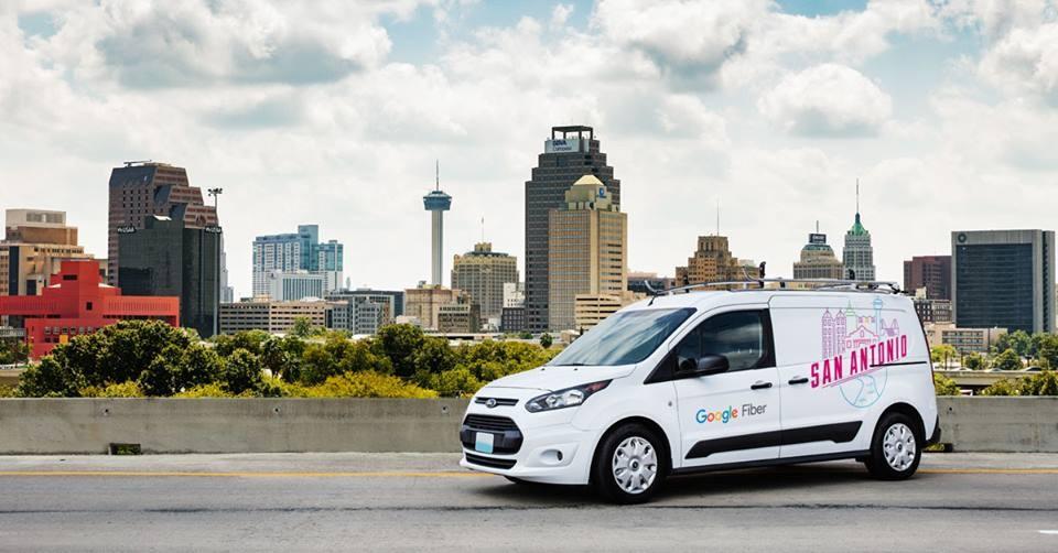 Google Fiber began building out its San Antonio fiber optic network late last year. - VIA GOOGLE FIBER'S FACEBOOK PAGE