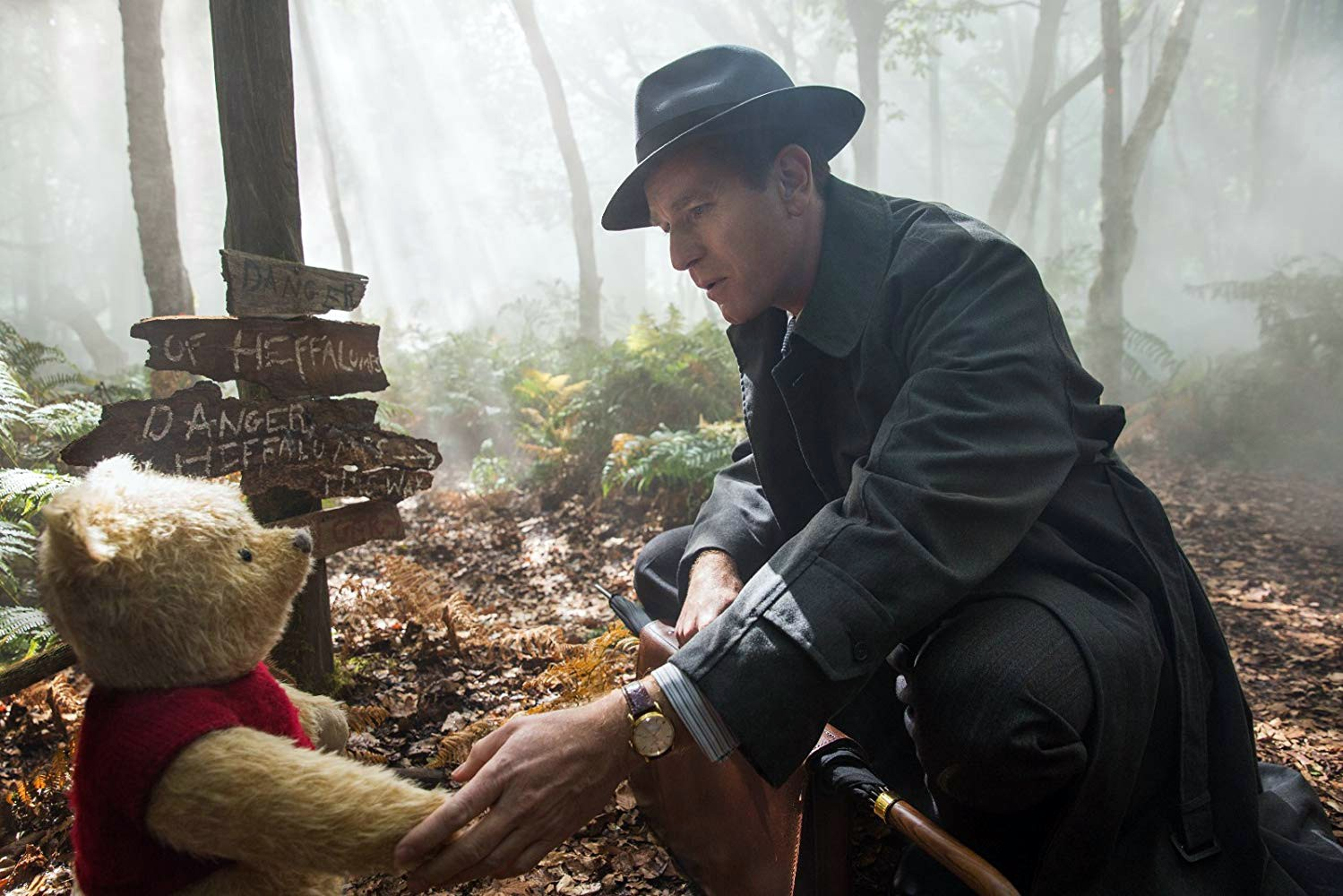 Live Action Winnie The Pooh Film Christopher Robin Is As Sweet As