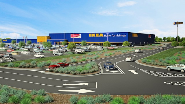 Rendering of Live Oak location - COURTESY OF IKEA