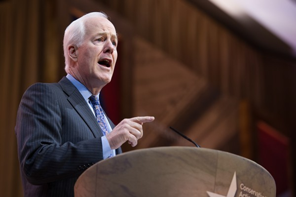 Sen. John Cornyn set off a tweetstorm of his own this weekend. - SHUTTERSTOCK.COM