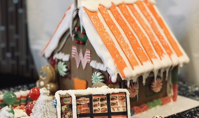 Check Out This Whataburger Gingerbread House Flavor