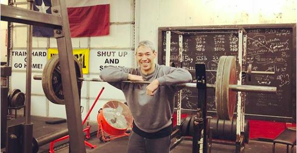 San Antonio Mayor Ron Nirenberg poses for a snap at the OG-Original Gym. - INSTAGRAM / RON_NIRENBERG