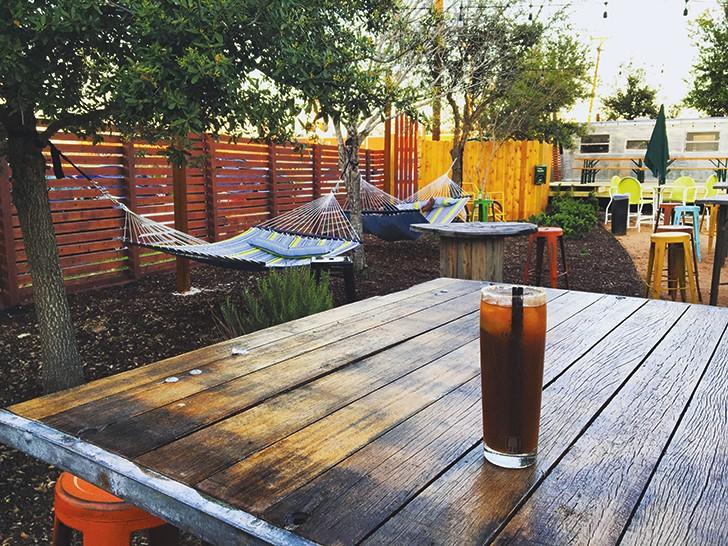 Burleson Yard Beer Garden - JESSICA ELIZARRARAS