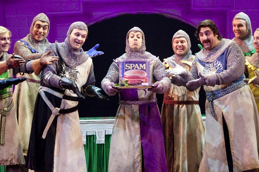 Head to the Tobin for a Special Performance of Monty Python's Spamalot