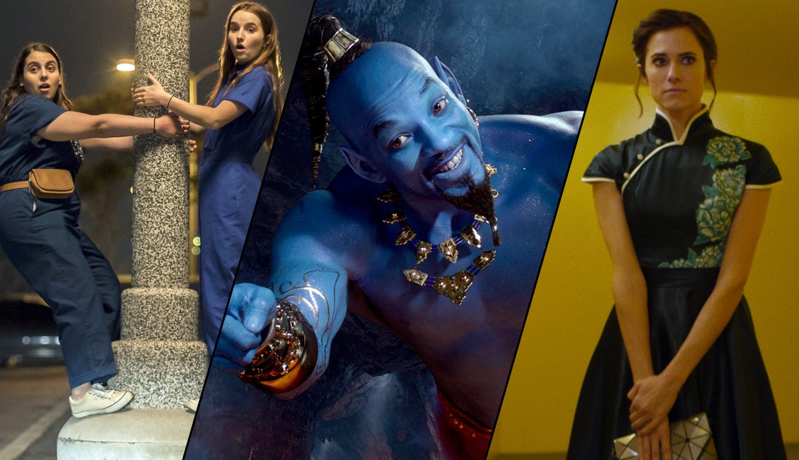 Cinematic Spillover: Short Reviews of Aladdin, Booksmart, The Perfection and More