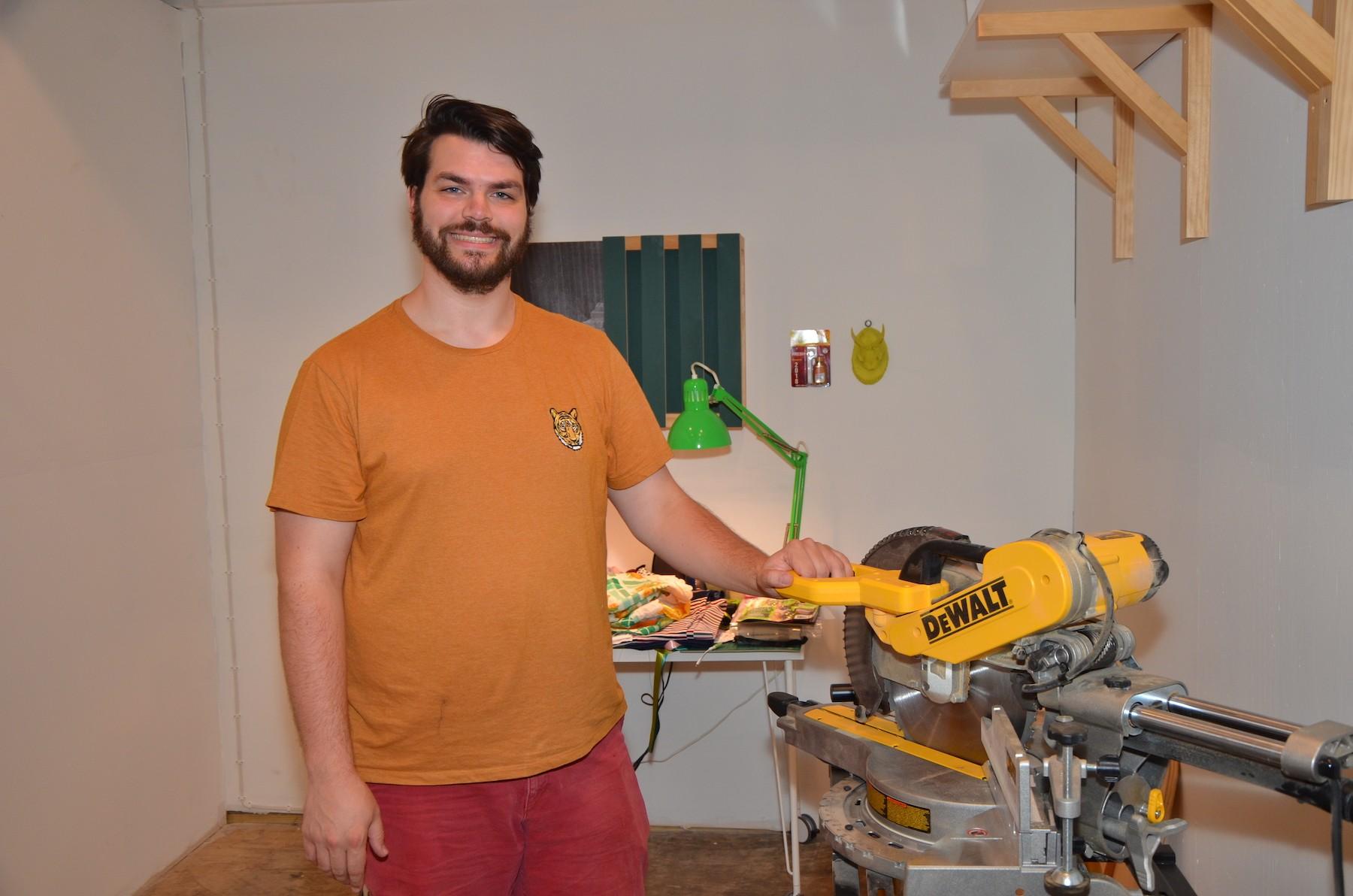 Studio Visits: Iowa Transplant Justin Korver on Tweaking