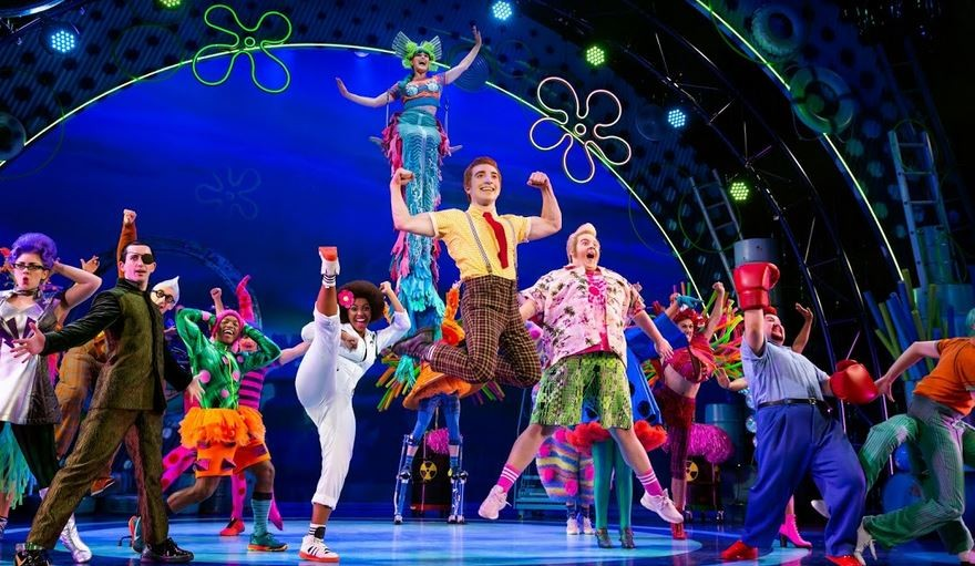 The SpongeBob Musical Brings Bikini Bottom to Life on Stage at the Majestic Theatre