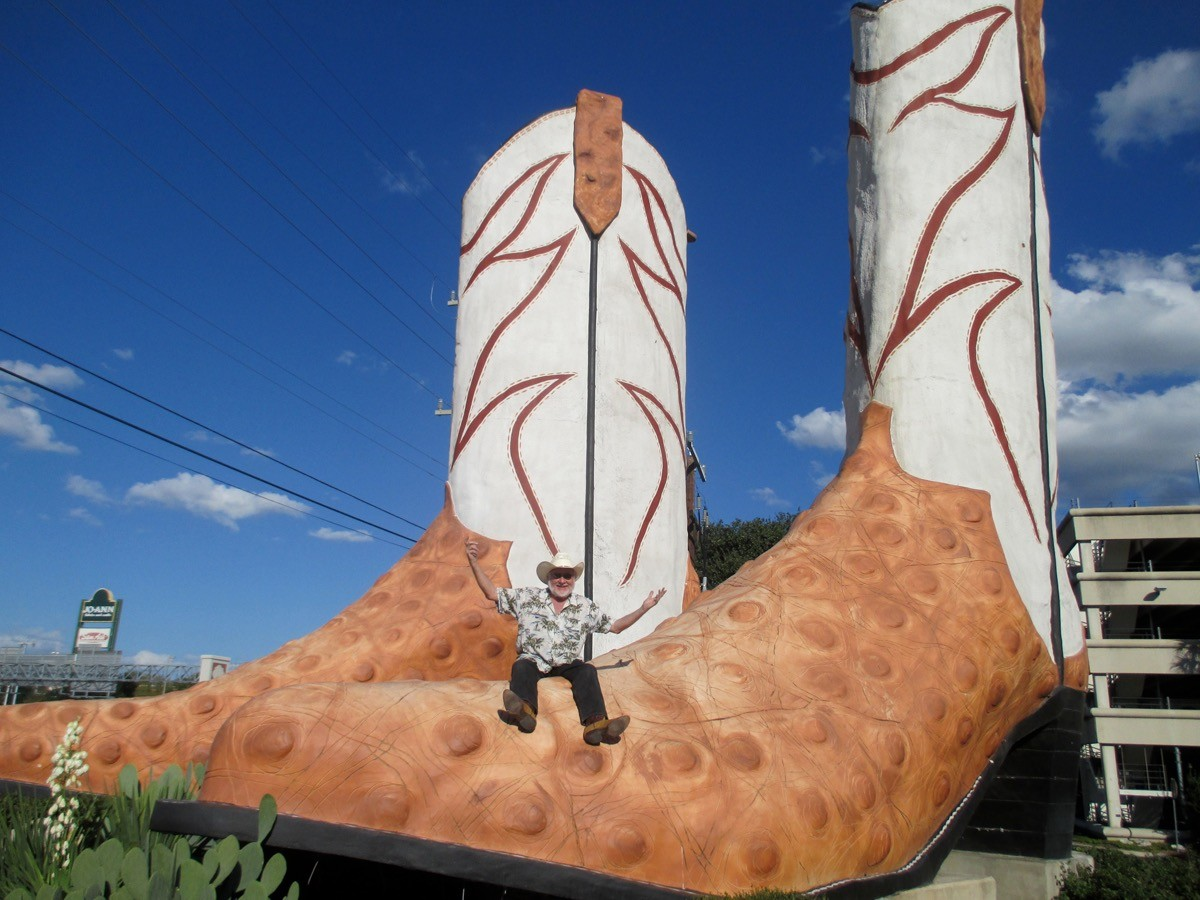 Halloween 2020 North Star Mall World's Largest Cowboy Boots Mark Their 40th Anniversary at North