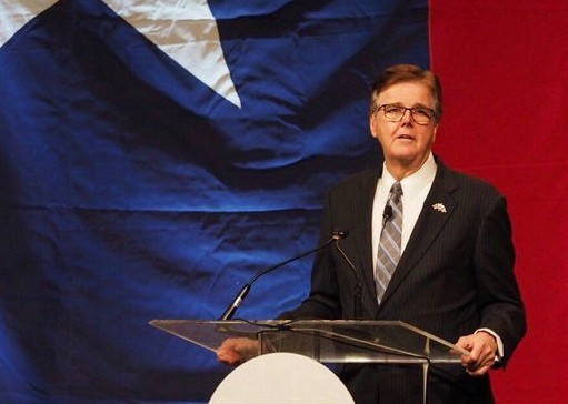 "Lt. Gov. Dan Patrick said he's considering lowering the ""supermajority"" threshold in the Texas Senate. - TWIITER / DANPATRICK"