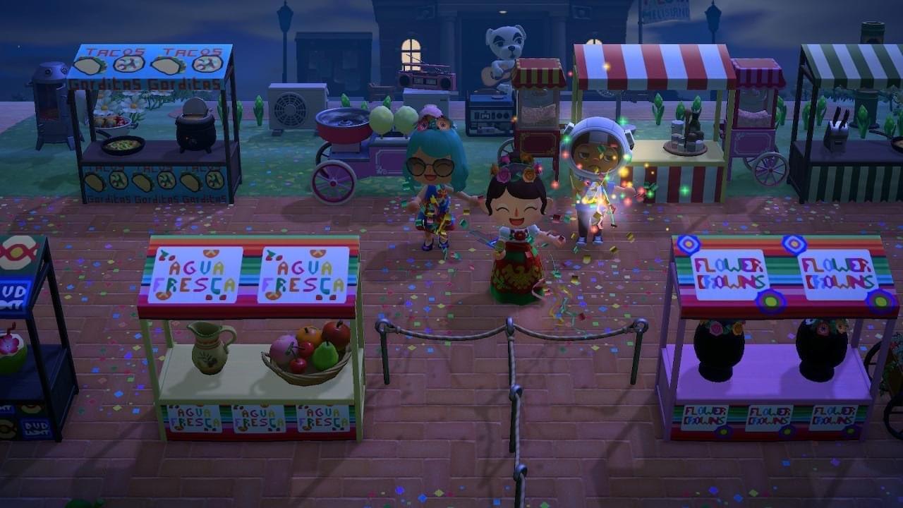 Gamer Recreates San Antonio S Fiesta In Nintendo S Animal Crossing New Horizons Porta Potties And All Artslut