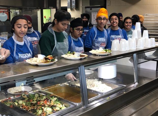 Seva, or selfless community service, is a core tenet of the Sikh faith. - PHOTO COURTESY SIKH DHARAMSAL
