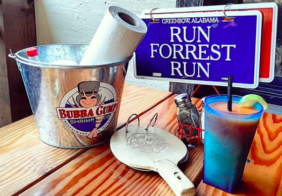 Bubba Gump Shrimp Co. is among Landry's concepts that will be reopening Friday. - INSTAGRAM / TERRIANNE_PASSINGHAM