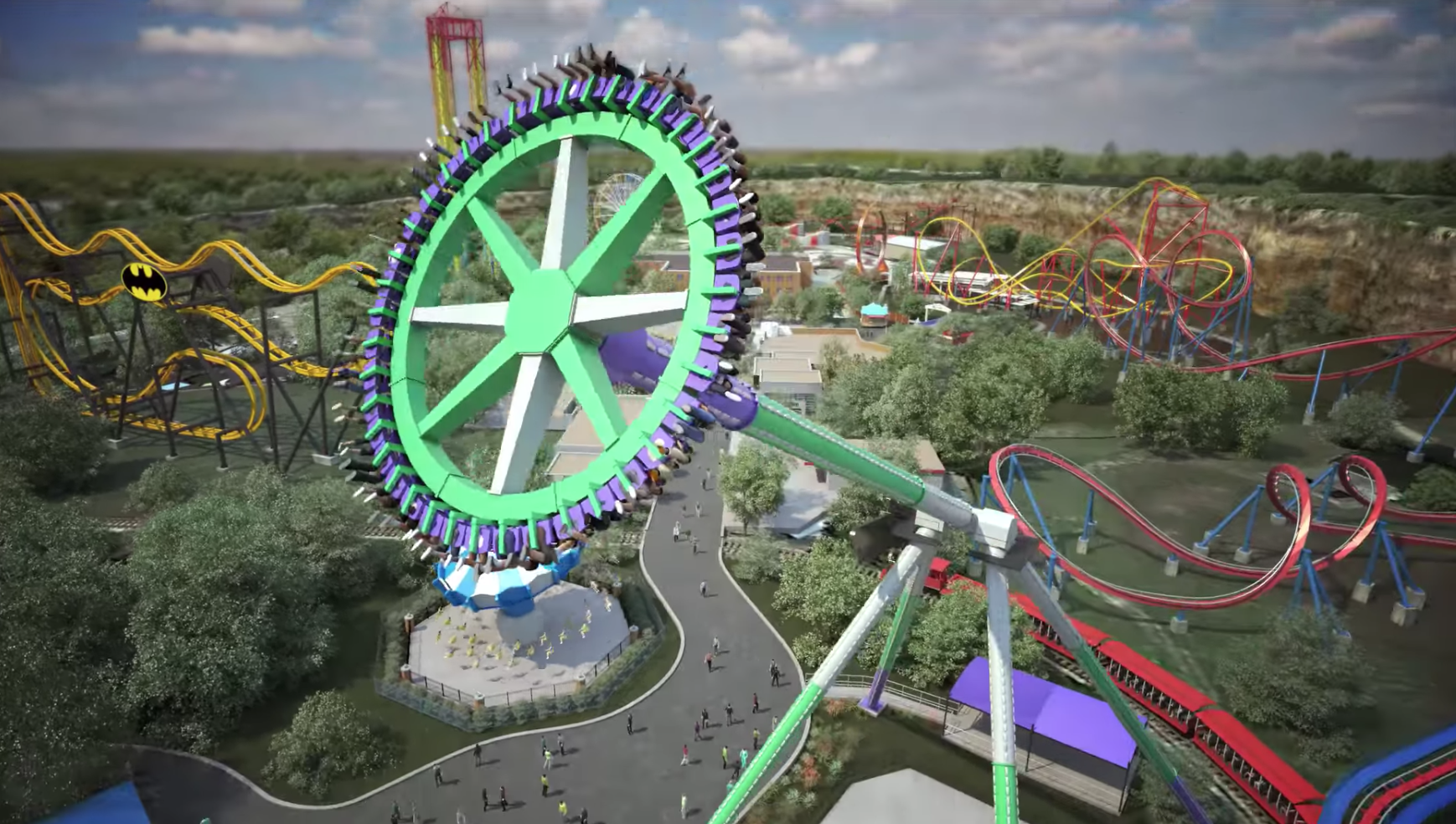 Six Flags Announces New Safety Procedures In Anticipation Of Reopening Texas Locations Artslut