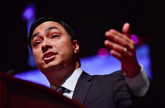 """Democratic U.S. Rep. Joaquin Castro said he wants the Biden campaign to commit to appointing immigration officials that can """"undo the damage"""" done under Trump's watch. - INSTAGRAM / JOAQUINCASTROTX"""