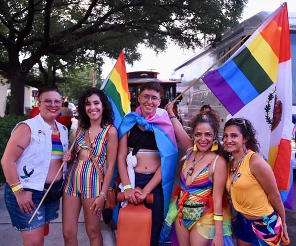 PRIDE Bigger than Texas 2020's livestream will capture the spirit of 2019's IRL Pride festivities. - JULIÁN P. LEDEZMA