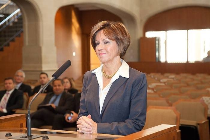 Former city manager Sheryl Sculley's tenure was marked by lengthy battles with the city's public safety unions. - FACEBOOK / GEORGE H. RODRIGUEZ