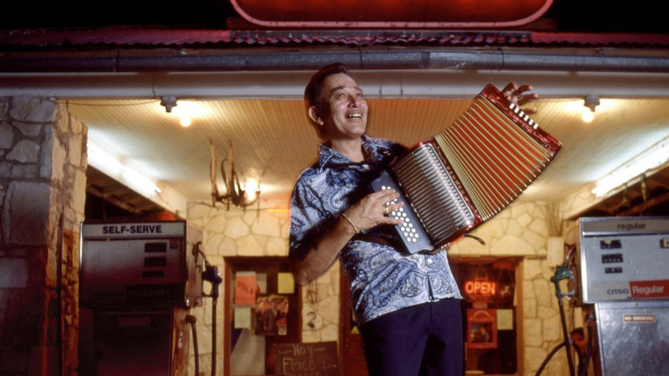 Flaco Jimenez back in the day - COURTESY
