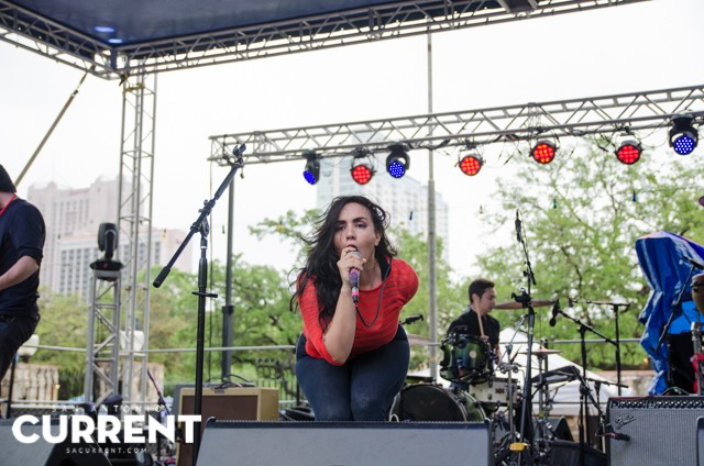 Nina Diaz live at Maverick Music Festival 2015 - JAIME MONZON