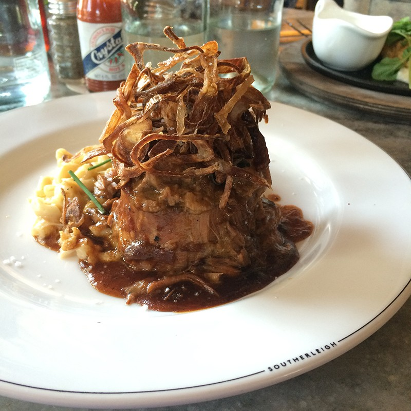 Not to be missed: Southerleigh's pot roast. - JESSICA ELIZARRARAS
