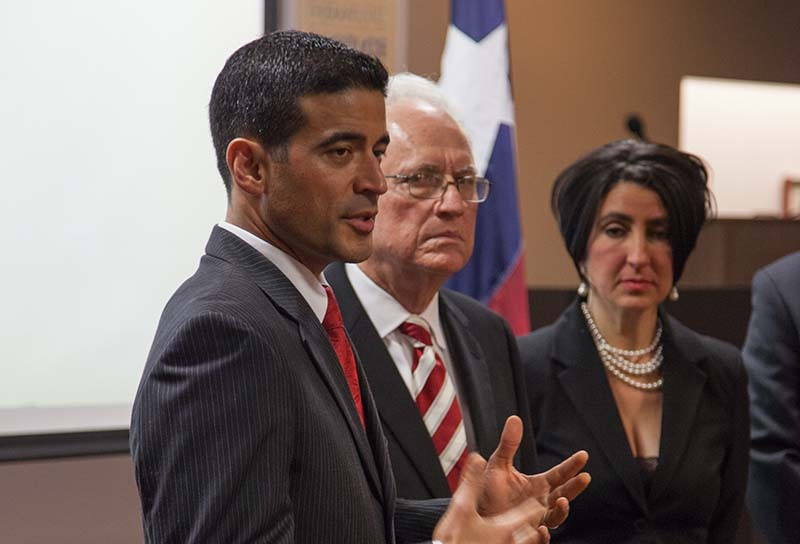 Bexar County DA Nico LaHood (left) is all for giving addicts a chance to recover but not behind bars. - LIZZY FLOWERS
