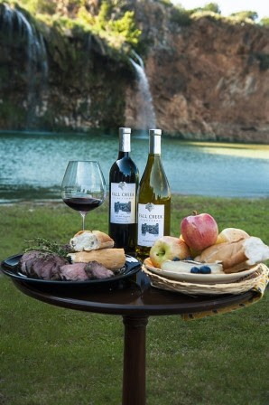 If your dad loves wine and waterfalls... - FALL CREEK VINEYARDS