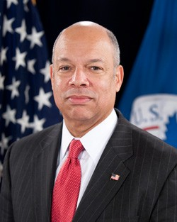 U.S. Department of Homeland Security Secretary Jeh Johnson. - U.S. DEPARTMENT OF HOMELAND SECURITY