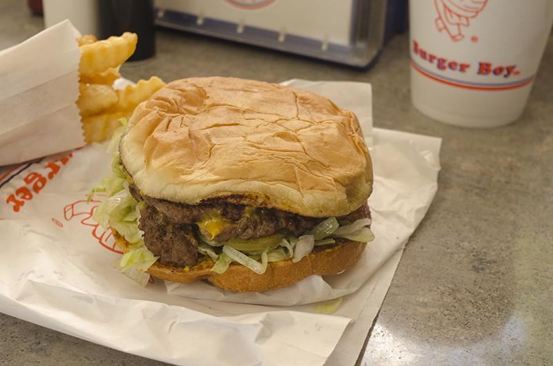 Burger Boy - SARA LUNA ELLIS