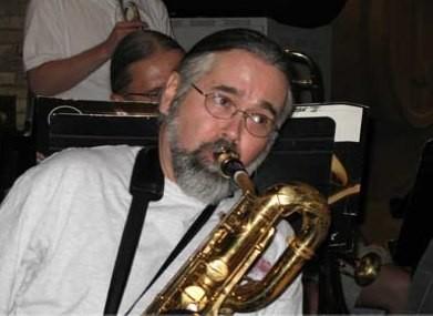 George Briscoe of Crimson Jazz Orchestra - COURTESY
